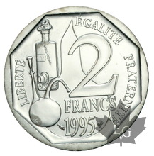 FRANCE-1995-ESSAI 2 francs Louis Pasteur 1995-FDC
