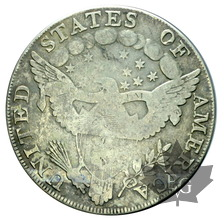 USA-1798-1 DOLLAR-Draped Bust -TB