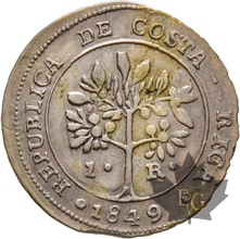 COSTA RICA-1849-REAL-TTB-SUP