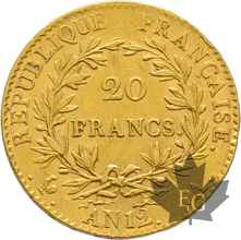 FRANCE-AN 12A-20 FRANCS-PARIS-1er Consul-prSUP