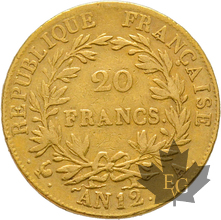 FRANCE-AN 12A-20 FRANCS-PARIS-Napoleon Empereur-prSUP
