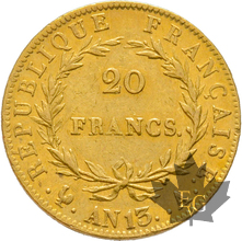 FRANCE-AN 13A-20 FRANCS-PARIS-Napoleon Empereur-prSUP