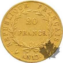 FRANCE-AN 13A-20 FRANCS-PARIS-Napoleon Empereur-TTB