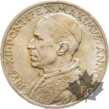 VATICAN-1939-5 LIRE-PIUS XII AN I-FDC