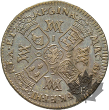 GRANDE BRETAGNE-1693-6 PENCE-William & Mary-TTB
