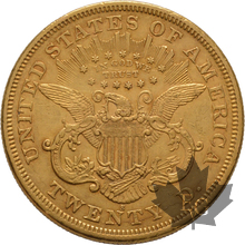 USA-1875S-20 DOLLARS LIBERTY HEAD-SUP