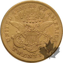 USA-1876S-20 DOLLARS LIBERTY HEAD-SUP