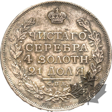RUSSIE-1815-1 ROUBLE-ALEXANDER I-1777-1825-SUP