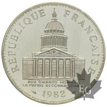 FRANCE-1982-100 FRANCS PANTHEON-PIEFORT-PCGS SP67