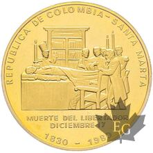 COLOMBIE-1980-30000 PESOS-PCGS PROOF 65 DEEP CAMEO