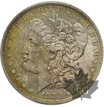 USA-1883 O-1 DOLLAR MORGAN-PCGS MS62