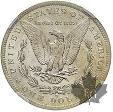 USA-1883 O-1 DOLLAR MORGAN-NGC MS63