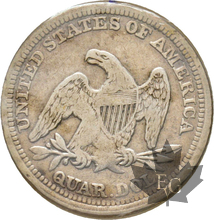 USA-1857-QUARTER DOLLAR-TTB