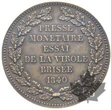 FRANCE-1840-Module de 5 Francs-Louis Philippe 1830-1848- SP58