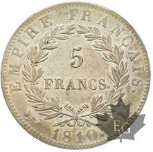 FRANCE-1810 L-5 FRANCS- PREMIER EMPIRE-Bayonne-PCGS AU58