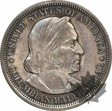 USA-1893-HALF DOLLAR- 50 Cent Columbian-NGC MS63