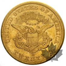 USA-1865-20 DOLLARS LIBERTY HEAD-TTB