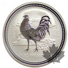 AUSTRALIE-2005-1 DOLLARS-1 OZ-SILVER-PROOF