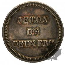 MONACO-1856(ND)-JETON 2 FRANCS-sup
