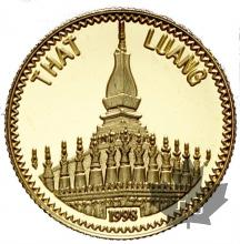LAOS-1998-2000 KIP-THAT LUANG-PROOF