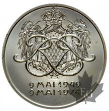 MONACO-1974-MEDAILLE ARGENT-FDC