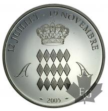 MONACO-2005-Medaille-PROOF