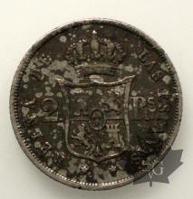 ESPAGNE-1852-2 REALES-SUP