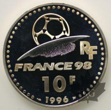 FRANCE-1996-10 FRANCS-PROOF