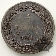 FRANCE-1830-5 FRANCS LOUIS PHILIPPE-qTTB