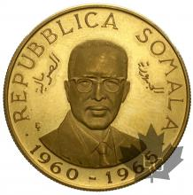 SOMALIE-1965-100 SCELLINI -PROOF