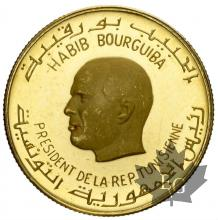 TUNISIE-1967-2 DINARS-PROOF