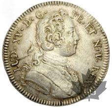 FRANCE-LOUIS XV- TRESOR ROYAL-JETON