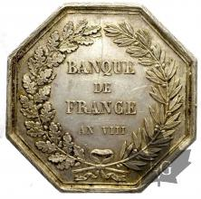 FRANCE-BANQUE DE FRANCE-JETON AN VIII