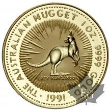 AUSTRALIE-1991-100 DOLLARS-PROOF