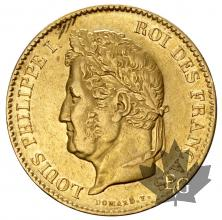 FRANCE-1834A-40 FRANCS-LOUIS PHILIPPE-TTB