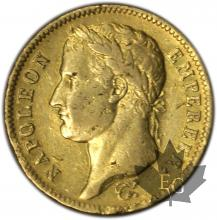 FRANCE-1813CL-40 FRANCS or-GENOVA-TB+
