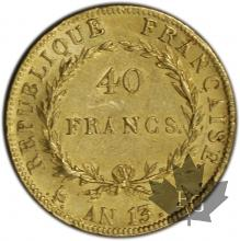 FRANCE-1804-AN 13A-40 FRANCS-BB-