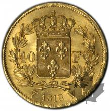 FRANCE-1818W-40 FRANCS or-SUP-