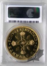 MONACO-1974-50 FRANCS ESSAI OR-PCGS SP69