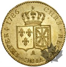 FRANCE-1786A-DOUBLE LOUIS-LOUIS XVI-SUP