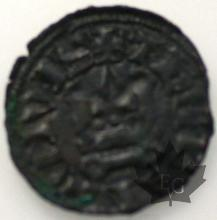 FRANCE-ORIENT LATIN- DENIER TOURNOIS-1287-1308