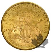 USA-1898S-20 DOLLARS-SUP