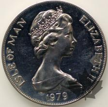 ISLE OF MAN-1979-1 CROWN