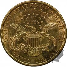 USA-1880-20 DOLLARS LIBERTY HEAD-SUP