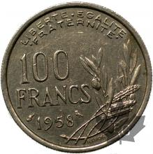 FRANCE-1958-100 FRANCS COCHET-prSUP