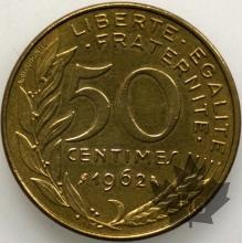 FRANCE-1962-50 Centimes