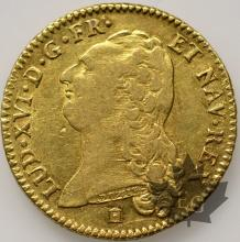 FRANCE-1786K-LOUIS XVI-1774-1793-DOUBLE LOUIS OR-TTB-SUP
