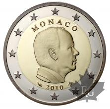 MONACO-2010-2 EURO COMMEMORATIVE