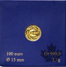 FRANCE-2010-100 EURO OR-MONNAIE DE PARIS