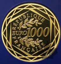 FRANCE-2011-1000 EURO OR-PROOF